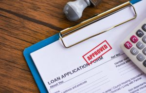 Loan approved form